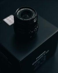 Black camera lense
